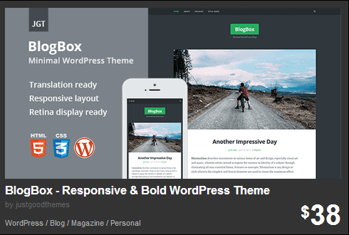 Wordpress Themes fra Themeforest.net