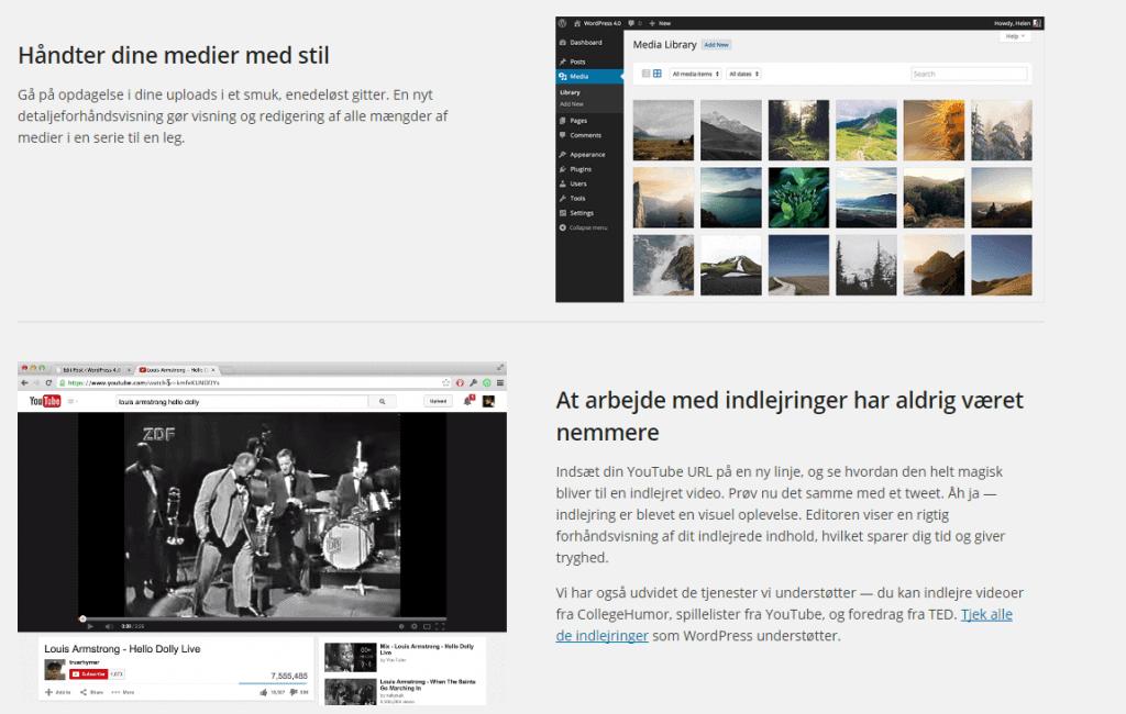 WordPress opdatering - Se hvad vi har gjort