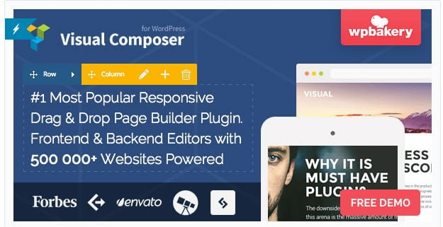 Visual Composer - nemt design til WordPress