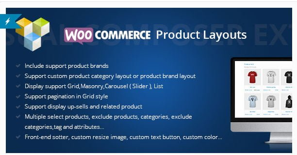 Woocommerce Products Layouts