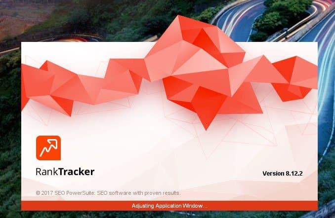 SEO PowerSuite - åbn program