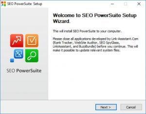 SEO PowerSuite - velkommen