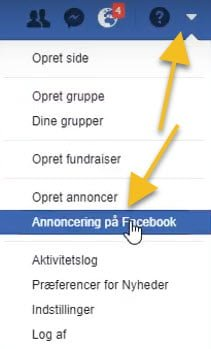 Business Manager - Annoncering på Facebook