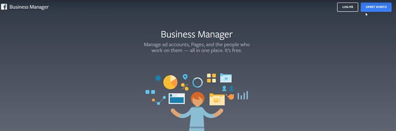 Facebook Business Manager - Log på