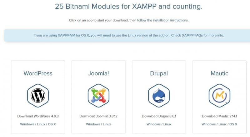 Bitnami modules