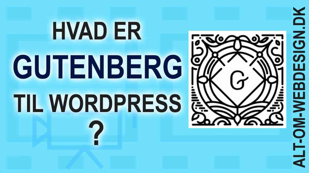 Gutenberg til WordPress