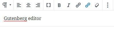 WordPress Gutenberg editor arbejder med blokke