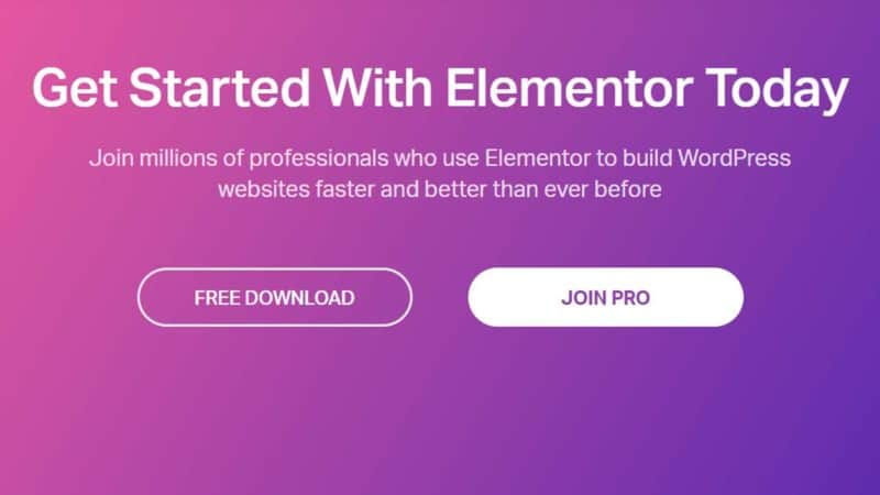 Elementor pro Page Builder