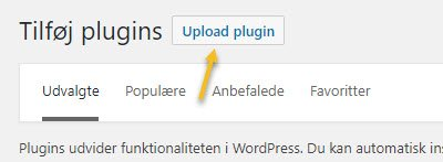 Plugins, Upload plugin