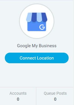Klik på Connect Location i Google My Business