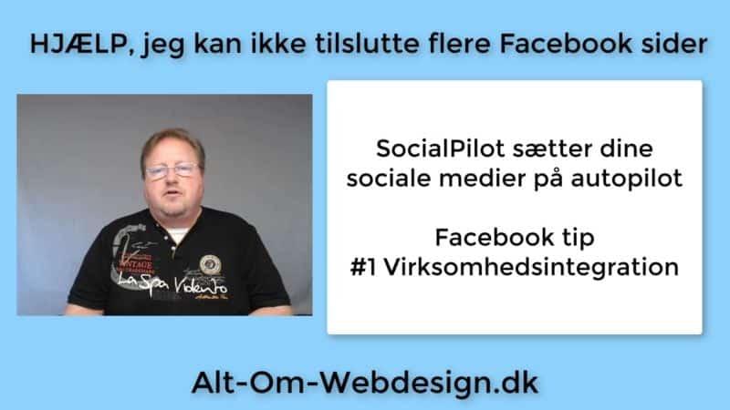 SocialPilot - Tilslut flere Facebook sider driller