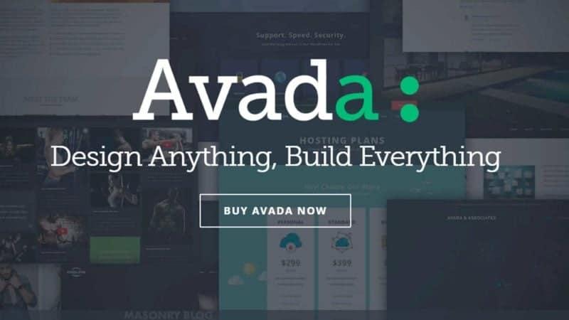 Avada fra Theme Fusion