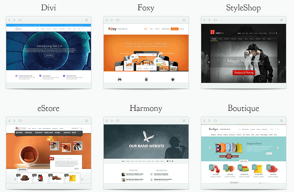 WordPress temaer med Elegant Themes og Divi Builder